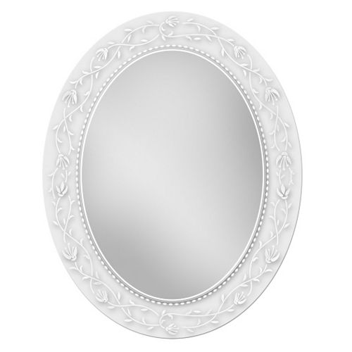 Head West Floral Oval Wall Mirror