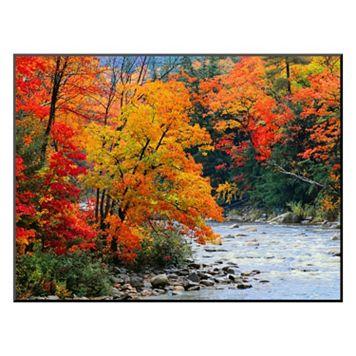 Art.com ''Stream in Autumn Woods'' Wall Art