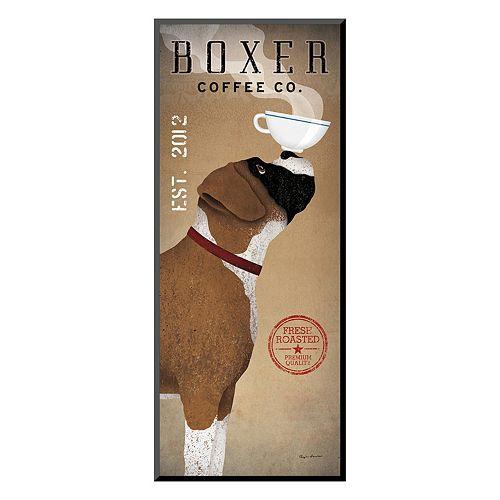 Art.com ''Boxer Coffee'' Wall Art