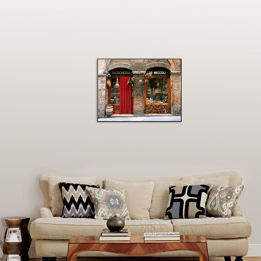 Art.com ''Pizzicheria and Bicycle'' Wall Art
