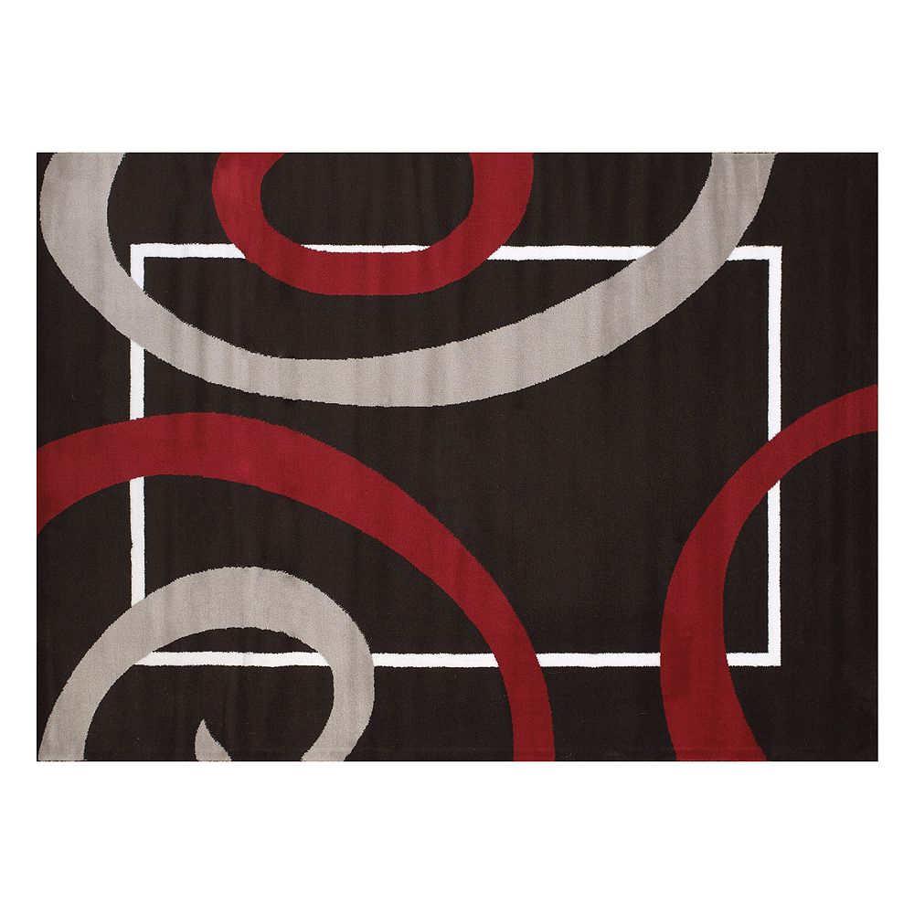 United Weavers Cristall Metro Gray Geometric Rug