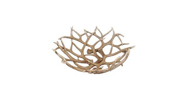 Sonoma Goods For Life Antler Decorative Bowl