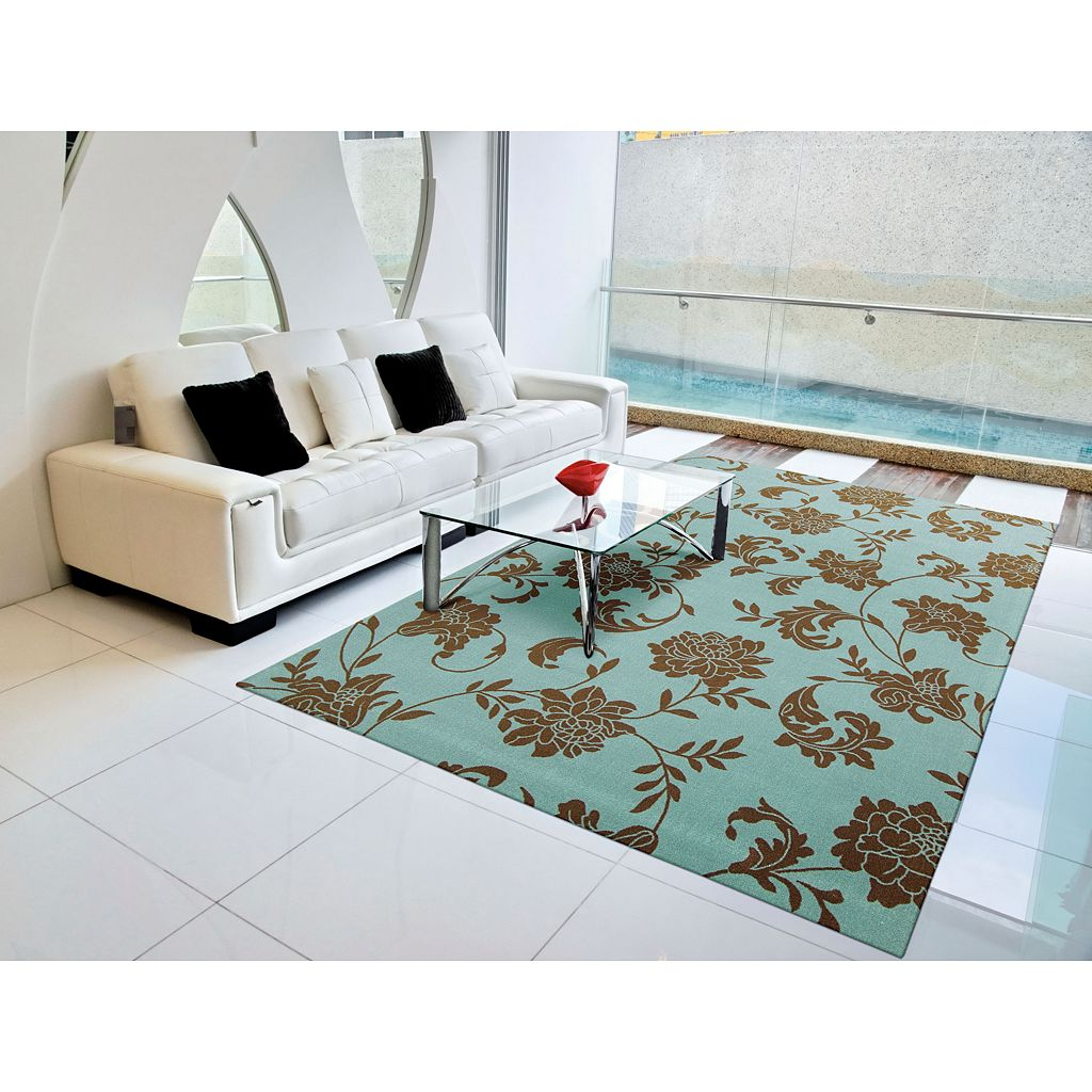 Nourison Home & Garden Floral I Indoor Outdoor Rug