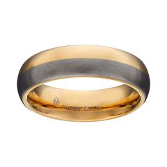 Tungsten Two Tone Band - Men