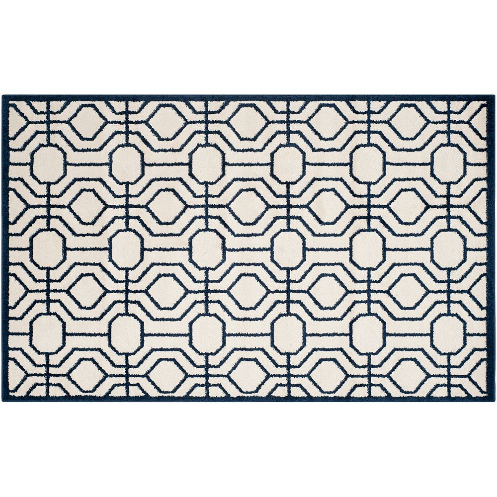Safavieh Amherst Circle Circuit Indoor Outdoor Rug