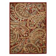Nourison Graphic Illusions Paisley Rug