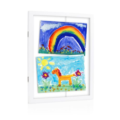 Pearhead Children's Artwork Storage Frame