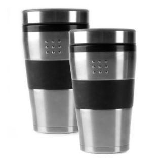 BergHOFF Orion 2-pc. Stainless Steel Travel Mug Set