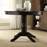 HomeVance Afton Pedestal Dining Table