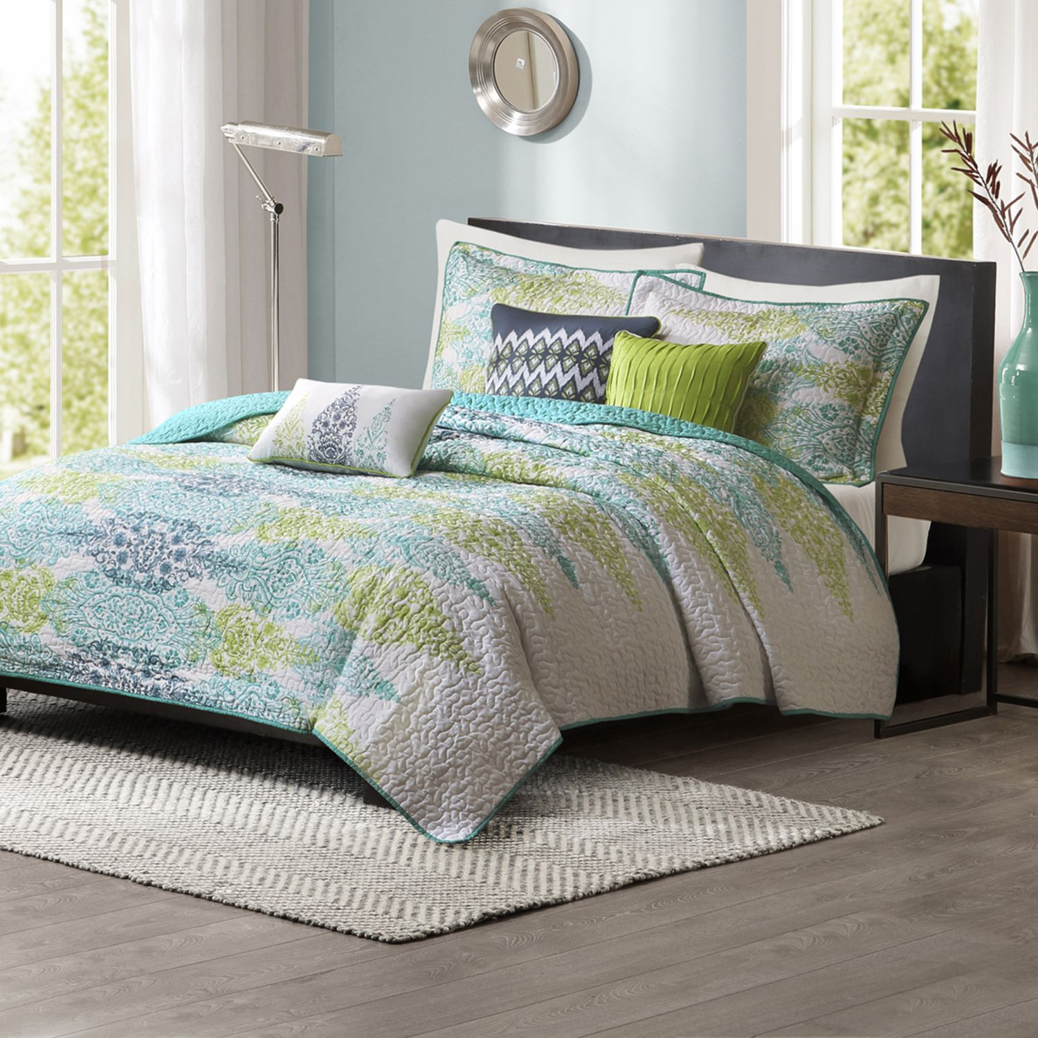 Madison Park Largo 6 Pc. Quilted Coverlet Set