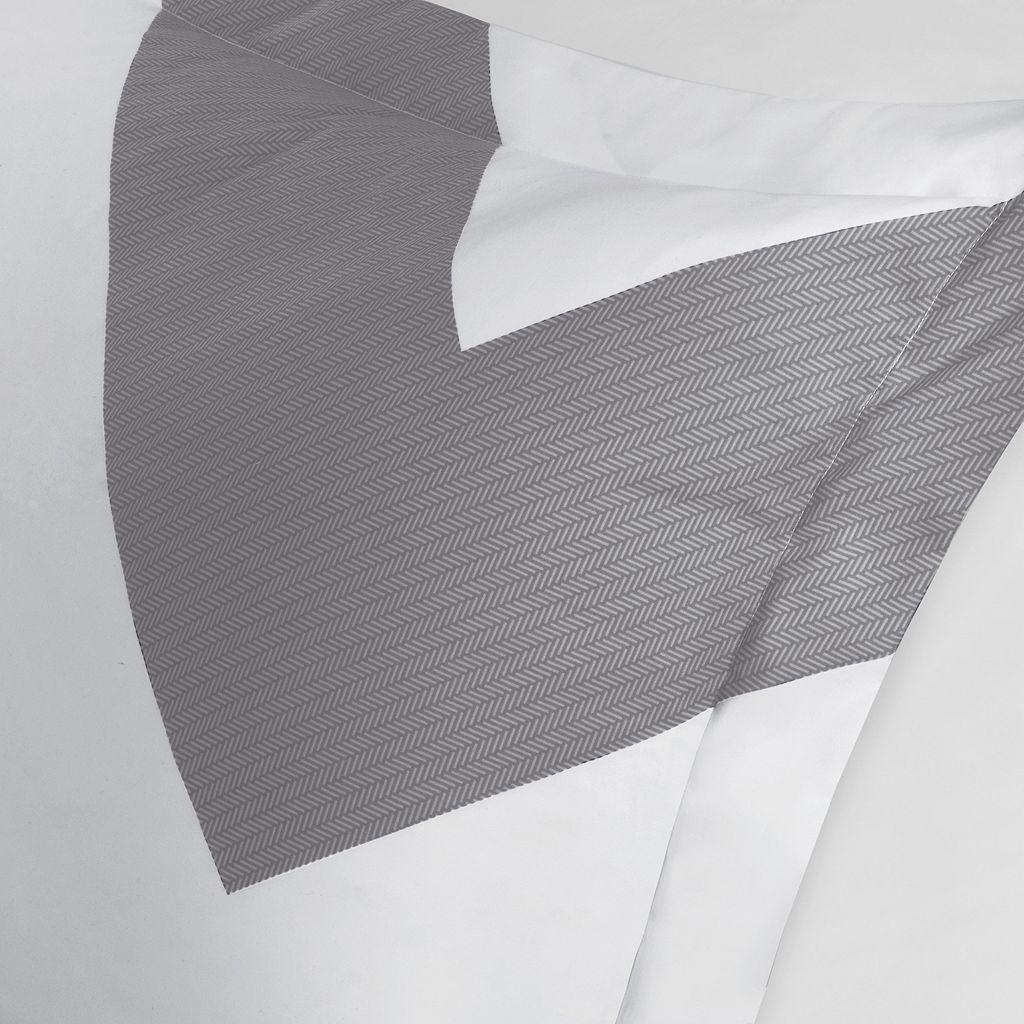 Mi Zone Aries Chevron Reversible Comforter Set
