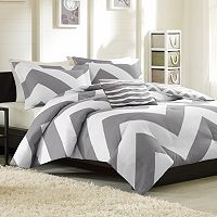 Mi Zone Aries Chevron Reversible Comforter Set