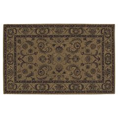 Nourison India House Gold Wool Rug