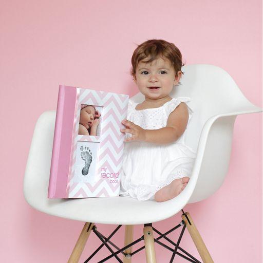 Pearhead Chevron Memory Baby Book