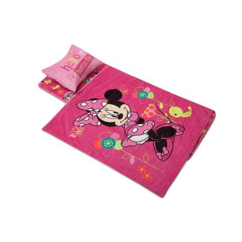 Disney Minnie Mouse Pink Girls Fleece Pajama Disney Minnie