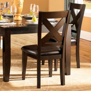 HomeVance 2-piece Glenmark X-Back Side Chair Set
