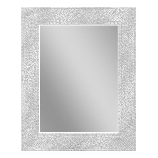 Head West Crystal Mosaic Rectangle Wall Mirror