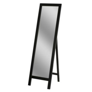 Head West Espresso Easel Mirror