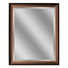 Head West Oil Rubbed Bronze Tone Medium Wall Mirror