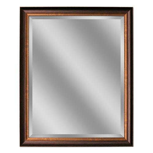 Head West Oil Rubbed Bronze Tone Medium Wall Mirror