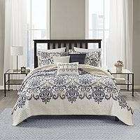 Madison Park Cardiff 6-pc. Coverlet Set