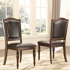 HomeVance 2 pc Hanbury Side Chair Set