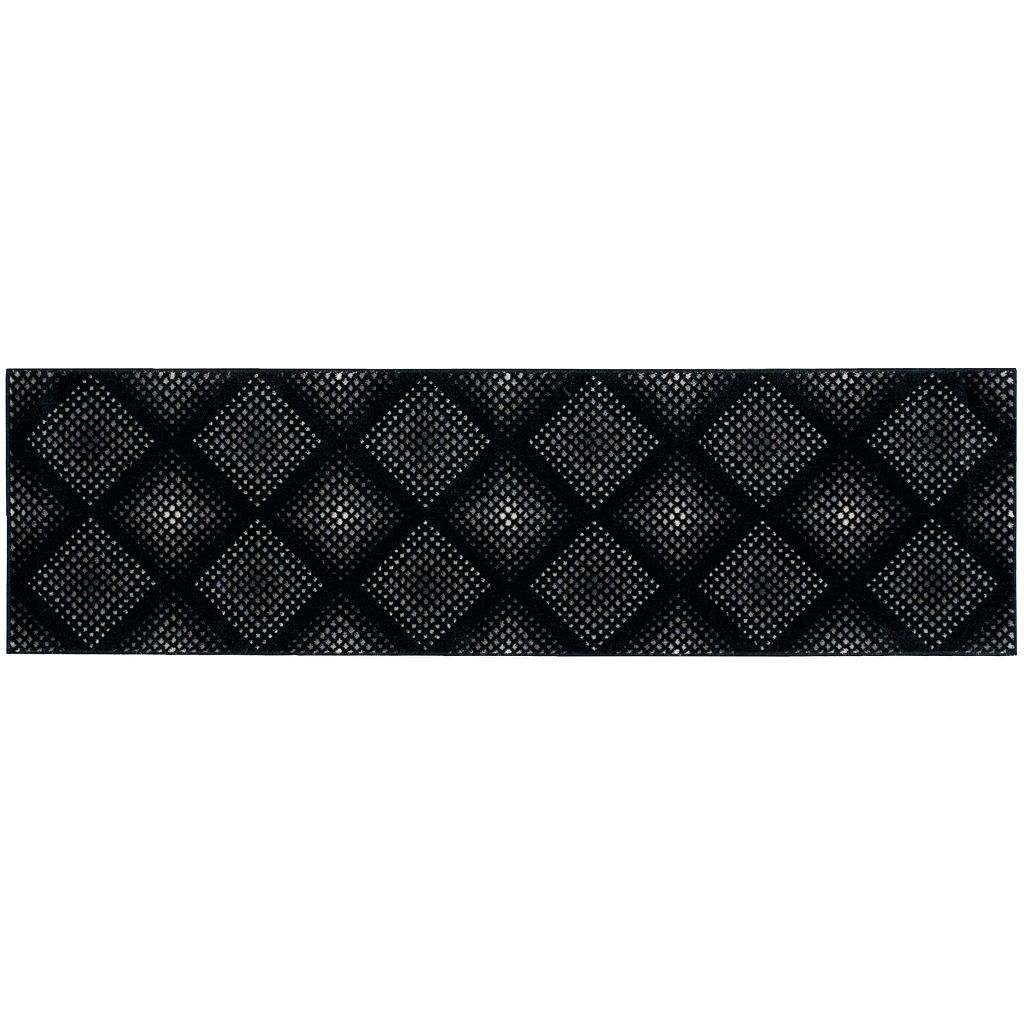 Nourison Utopia Geometric Diamond Rug