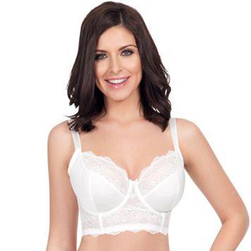 Parfait Bra: Elissa Unlined Lace Full-Figure Longline Bra P5012