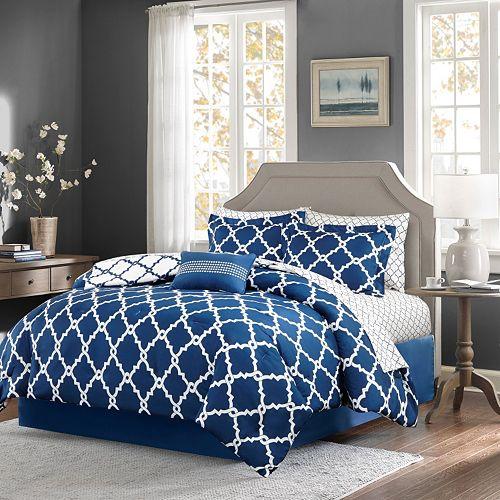 Madison Park Essentials Almaden Comforter and Sheet Set