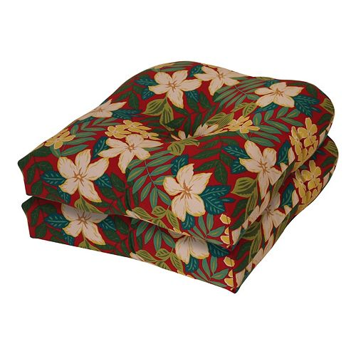 Terrasol Outdoor Patio ''U'' Chair Cushion Set