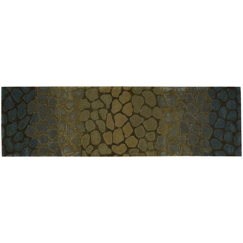 Nourison Dimensions Reptile Wool Rug