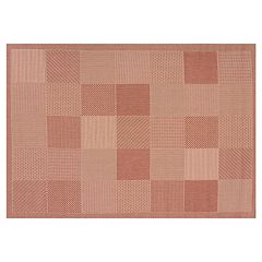 United Weavers Solarium Patio Block Rug