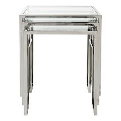 Safavieh Couture Theo 3 pc Nesting Table Set