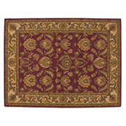 Nourison India House Floral Medallion Wool Rug