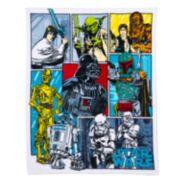 Star Wars Comic Plush Throw