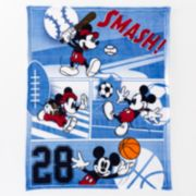 Disney's Mickey Mouse Plush Throw by Jumping Beans®