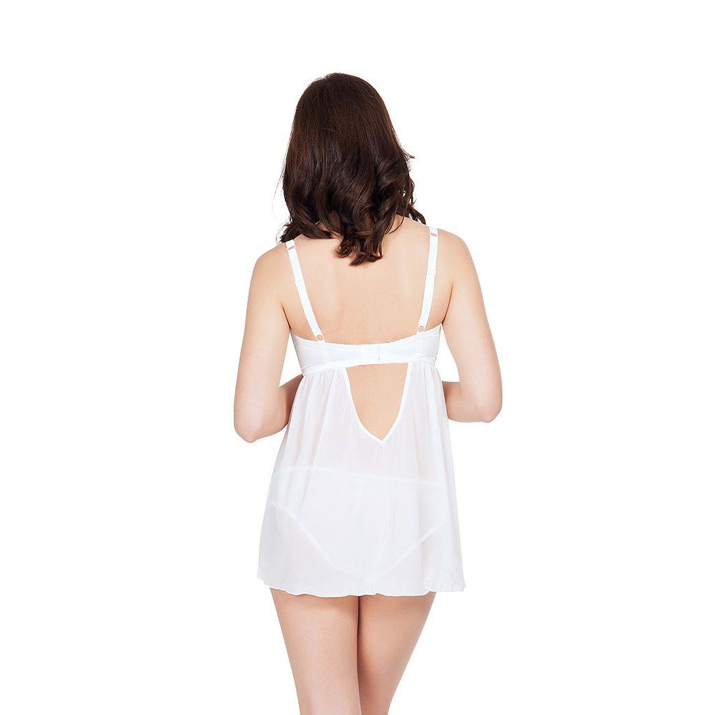 Parfait Alexis Full-Figure Babydoll Lingerie 8608
