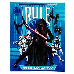 Star Wars: Episode VII The Force Awakens Kylo Ren Throw Blanket