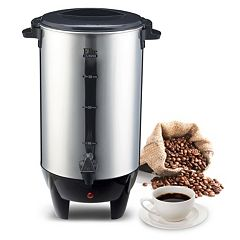 Elite Cuisine Stainless Steel 30-Cup Coffee Urn