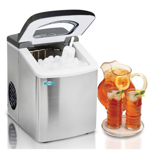 Mr. Freeze Stainless Steel Portable Ice Maker