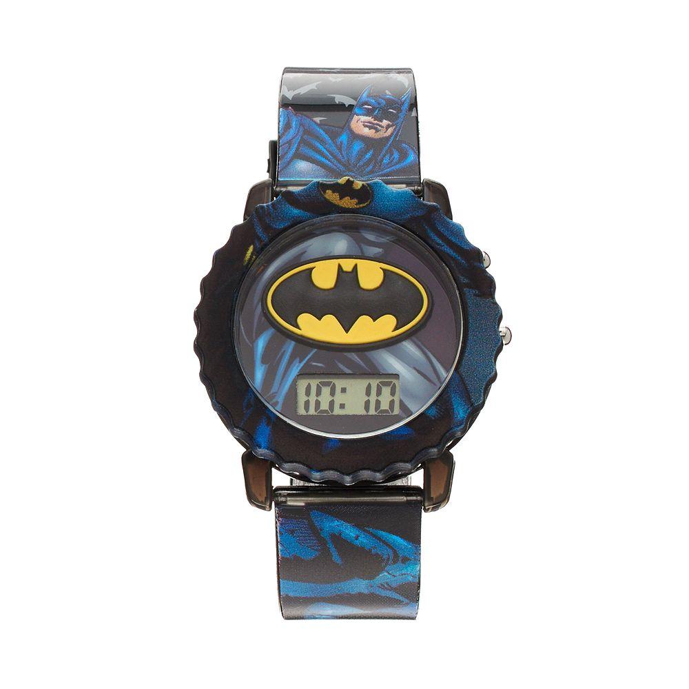 Batman Boy's Digital Light-Up Watch