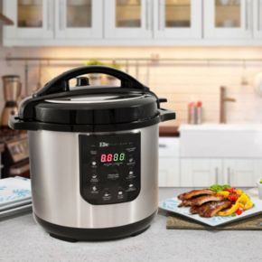 Elite Platinum 8-qt. Electric Stainless Steel Pressure Cooker