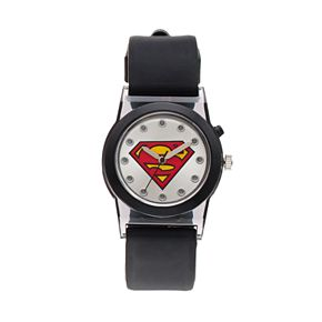 DC Comics Superman Boy's Light-Up Watch