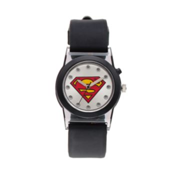 DC Comics Superman Boy's Light-Up Watch