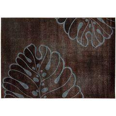 Nourison Expressions Leaf Rug