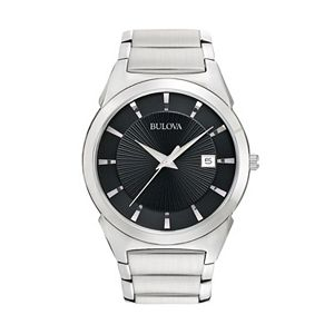 Bulova Men's Dress Classic Stainless Steel Watch - 96B149