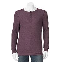 Big & Tall Apt. 9® Modern-Fit Waffle-Weave Thermal Henley