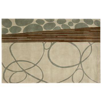Nourison Dimensions Swirl Wool Rug