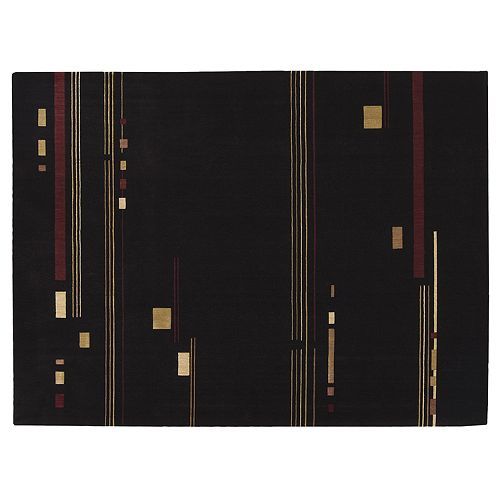 Nourison Parallels Geometric Rug
