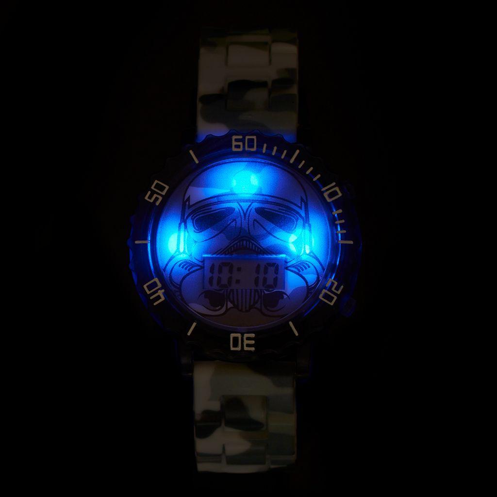 Star Wars Darth Vader Boy's Digital Light-Up Watch